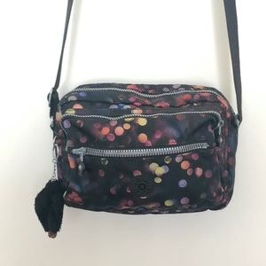 Kipling Deena Crossbody bag in Black Confetti